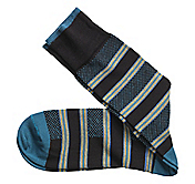 BIRDSEYE STRIPE SOCKS