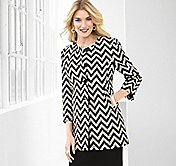 TEXTURED CHEVRON JACKET