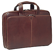 LEATHER SLIMLINE LAPTOP CASE