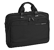 DIVIDENDS NYLON SLIMLINE BRIEFCASE