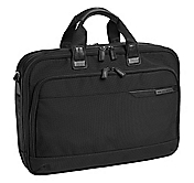 DIVIDENDS NYLON DELUXE EXPANDABLE BRIEFCASE