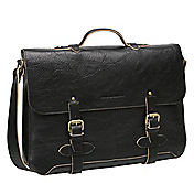 VINTAGE COLLECTION FLAPOVER BRIEFCASE