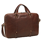 SLIM ZIP-TOP BRIEFCASE