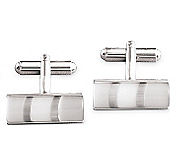 CATSEYE TUBE CUFFLINKS