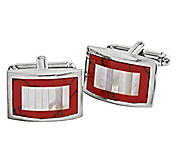 MOTHER-OF-PEARL COLUMN CUFFLINKS