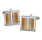 OMBRÉ STRIPE CUFFLINKS