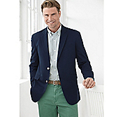 GARMENT-WASHED BLAZER