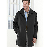 LIGHTWEIGHT FLY-FRONT RAINCOAT