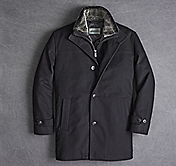 WOOL/CASHMERE CAR COAT
