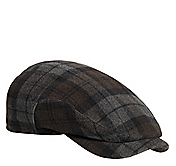 PLAID HAT WITH EARFLAPS
