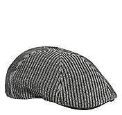 STRIPE KNIT PUB HAT
