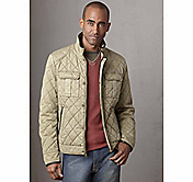 QUILTED COTTON FOUR-POCKET JACKET