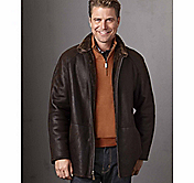 GENUINE SHEARLING COAT