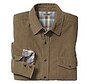 DOUBLE-FACED CORDUROY SHIRT