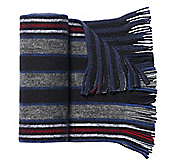 BRUSHED AMERICANA STRIPE SCARF