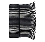 ALTERNATING PANEL STRIPE SCARF
