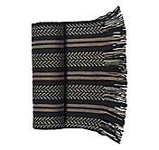 CHEVRON DOUBLE STRIPE SCARF
