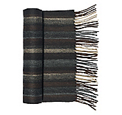 WOOL CASHMERE MULTI MEDIA STRIPE SCARF