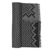 LIGHTWEIGHT CHEVRON STRIPE SCARF