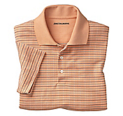 WINDOWPANE JACQUARD POLO