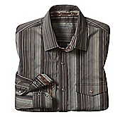 SLIM FIT TEXTURED STRIPE SHIRT