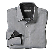 SLIM FIT DIAMOND NEAT JACQUARD SHIRT