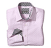 TAILORED FIT GRAND CHEVRON SHIRT