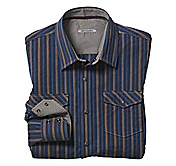 SLIM FIT RAISED DOUBLE STRIPE SHIRT