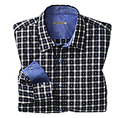 SLIM FIT JACQUARD SHIRT