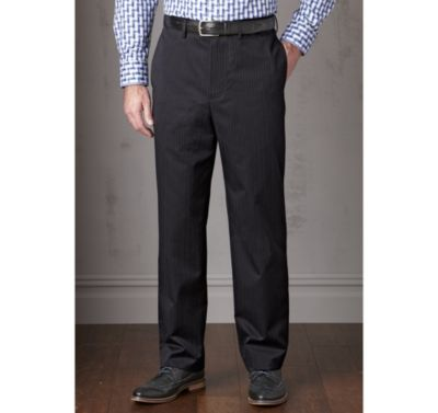 EASY-CARE SUPIMA PATTERNED TWILL PANTS