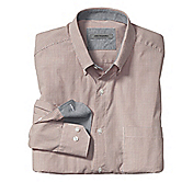 TAILORED FIT MINI BOX CHECK SHIRT