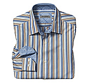 TAILORED FIT SAHARA STRIPE SHIRT