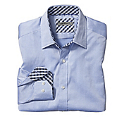 TAILORED FIT GRAND CHEVRON STRIPE SHIRT