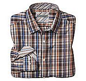 TAILORED FIT HARVEST PLAID SHIRT