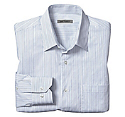 SLIM FIT THIN STRIPE SHIRT