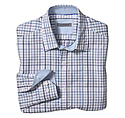TAILORED FIT ROPE CHECK SHIRT