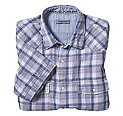 SLIM FIT DOUBLE LAYER CASUAL PLAID