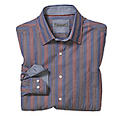 TAILORED FIT QUAD STRIPE SHIRT