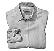 TAILORED FIT DIAGONAL NEAT SHIRT