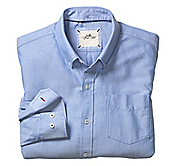 SLIM FIT WASHED OXFORD SHIRT