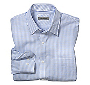 TAILORED FIT SIMPLE CHECK SHIRT