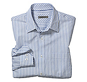 TAILORED FIT FRAMED STRIPE SHIRT