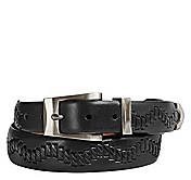 LACED-EMBOSSED BELT