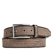 WASHED LIZARD BELT