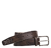 PERFED WEATHERED BELT