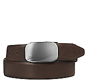 REVERSIBLE PLAQUE BUCKLE BELT