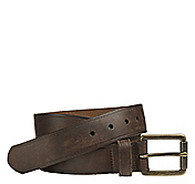 BURNISHED ROLLER BUCKLE BELT