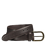 SHRUNKEN LEATHER BELT
