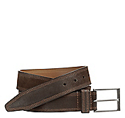 TRIPLE STITCHED SUEDE BELT