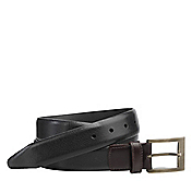 TWO-TONE DRESS BELT